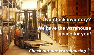 Burrard Transport Warehousing Service - Overstock inventory? We have the warehouse space for you!
